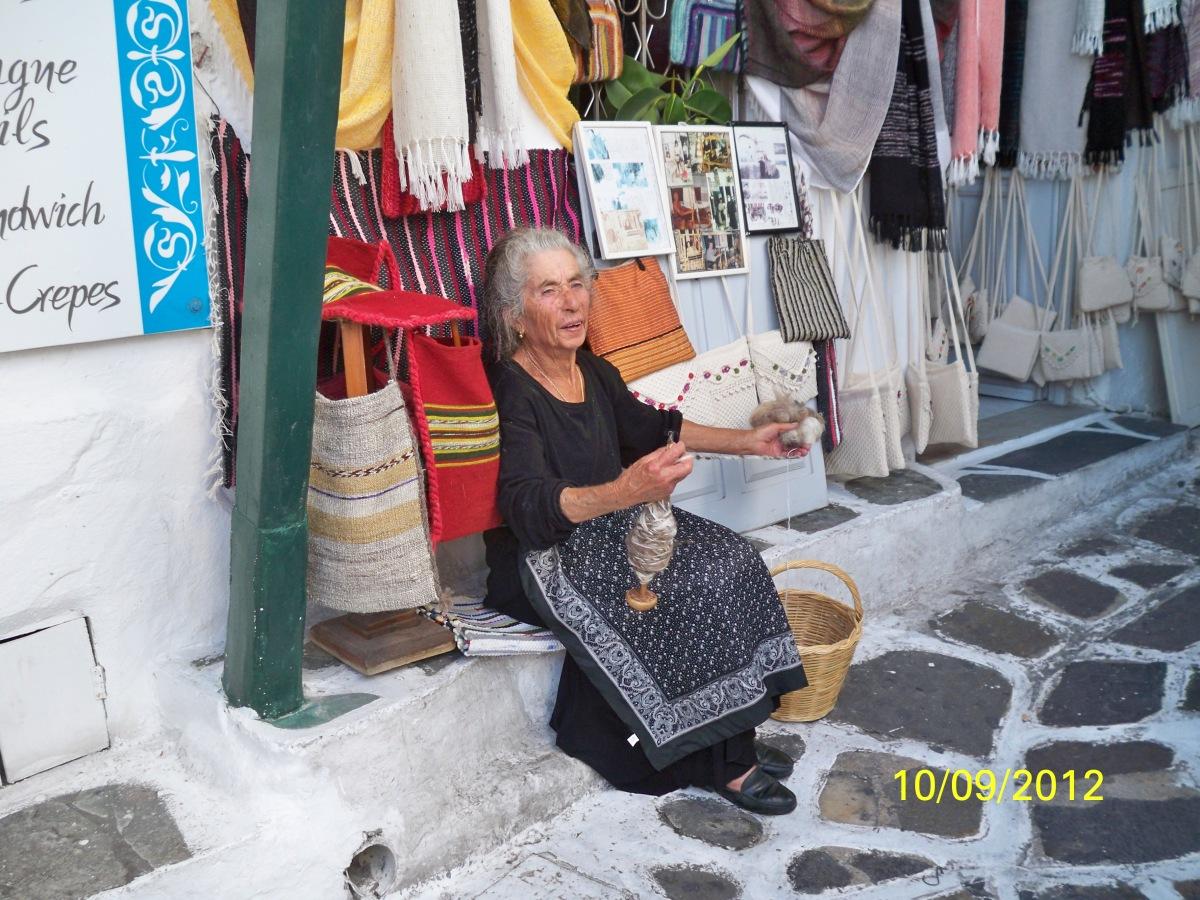 Local in Mykonos