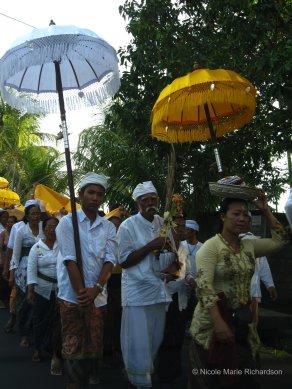 Full moon procession