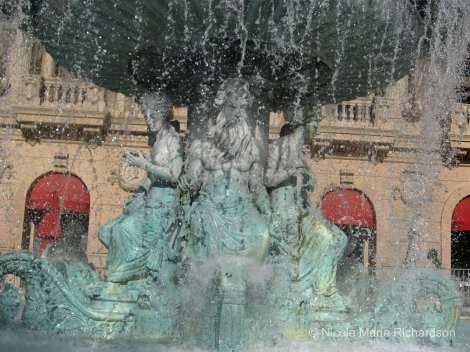 Paris Fountain 3