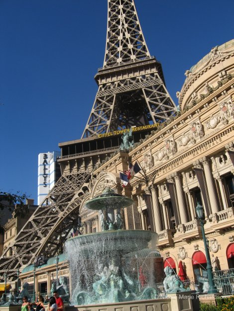 Paris Hotel view