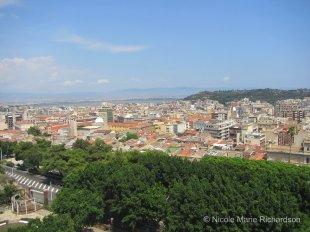 View of Cagliari