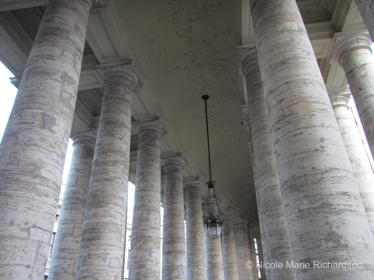 Beautiful columns