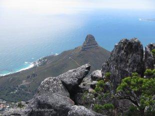 View of Devil's Peak