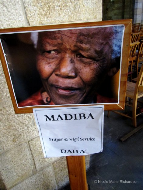Even before the country erupted into celebration and mourning after Nelson Mandela's death, his presence was EVERYWHERE. I don't believe that will change anytime soon.