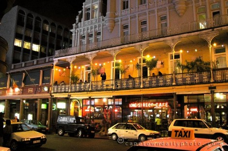 My tour guide  advised us not to venture into some places at night, including Long Street in Cape Town, where he said drugs and night clubs are on every corner. In truth, it's a lot like New York City--be smart, be aware, be safe.
