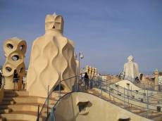 Casa Milà rooftop