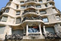 Casa Milà outisde