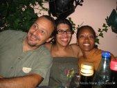 Giovanni, Viviane, and me at Giardino Delle Rane