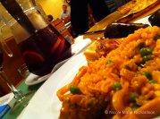 Sangria and Paella
