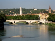 View of the Adige river