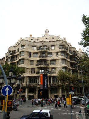 Casa Milà outside