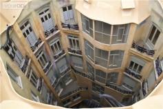 Casa Milà interior view