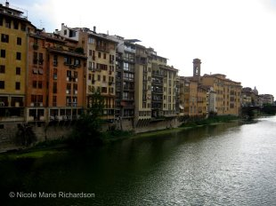 View from Ponte Vecchio