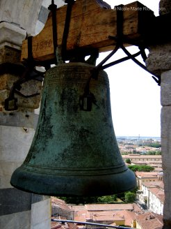Leaning Tower of Pisa bell tower