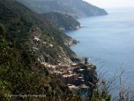 Vernazza far in the distance
