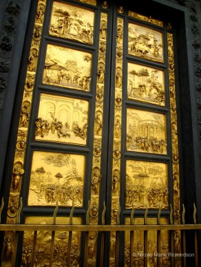 """The Gates of Paradise"" at the Battistero in Firenze"