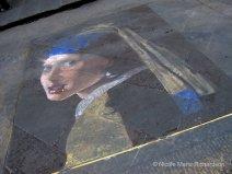 Chalk art