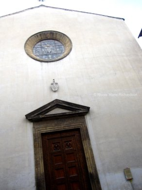 Simple church front