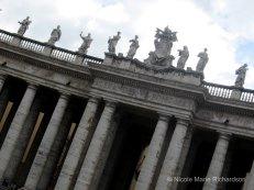 San Pietro colomns