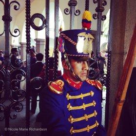Carondelet Palace guard