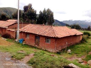 Mud brick home