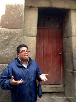 Our tour guide
