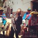Me holding an alpaca