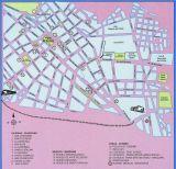 Cusco city center map