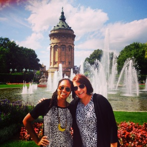 Me and Anna Bea in Mannheim