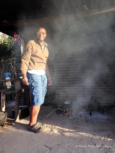 Tangeni, fire master
