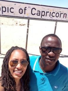 Me and Tangeni