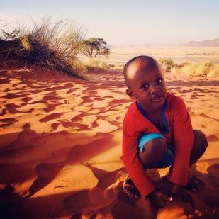 Tangeni's son Kanka