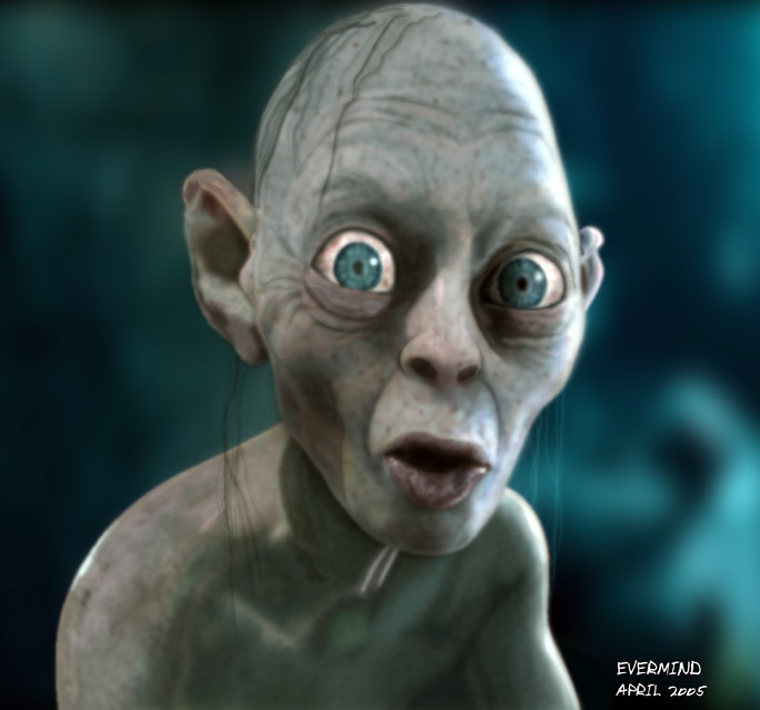 gollum lord of the rings nicole marie richardson