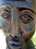 Sculture on the Etosha Safari Lodge grounds
